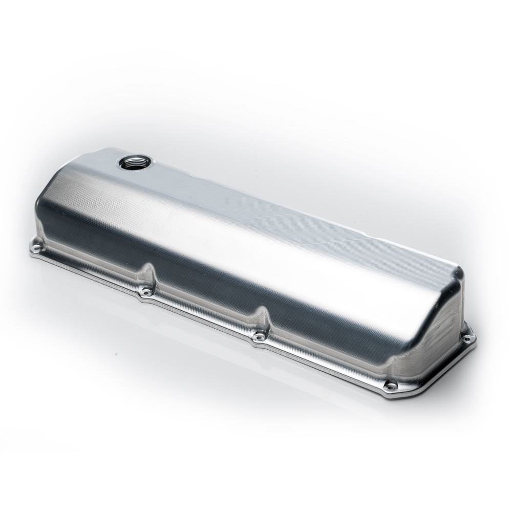 Main Anodised Black Optional Extra - Cleveland CHI/D3 Valve Cover (Pair) (does not include billet cover, please purchase separately)