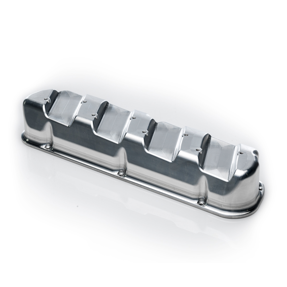 Main Ford Windsor Valve Covers (Pair) with Coil Mounts