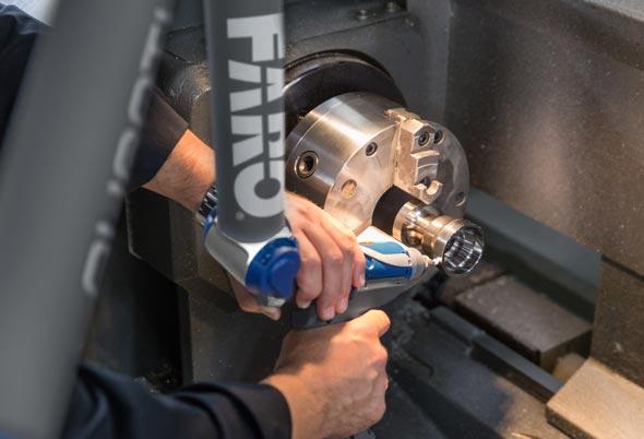 Performance Engine Building FARO Laser Digitising